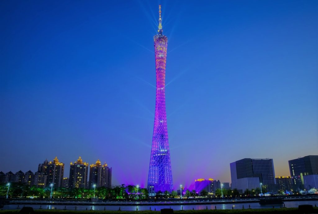 Canton Tower, Chine (Jacques Sun)