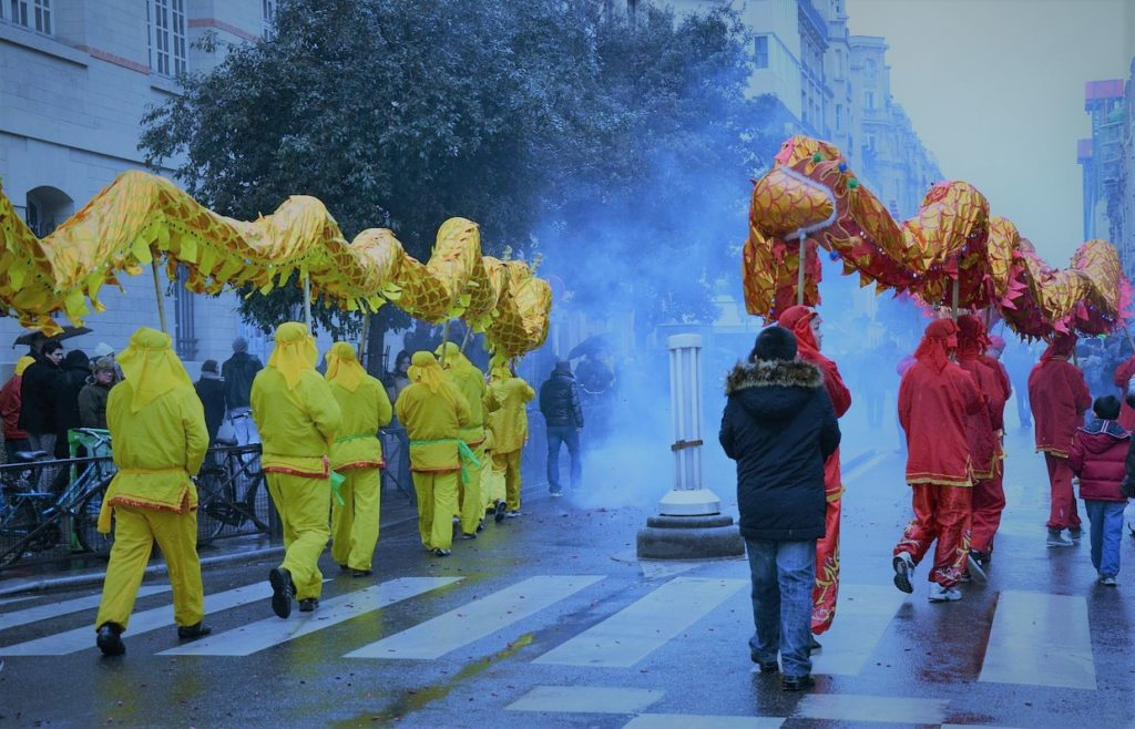 Nouvel an chinois à Paris (Jacques Sun)